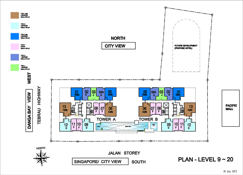 Type A Floor Plan